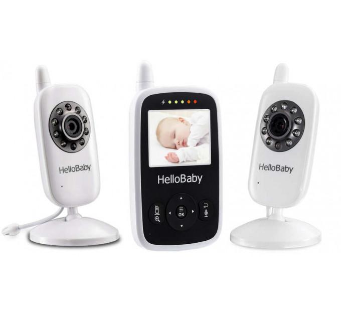 Видеоняня HelloBaby HB24X2 с двумя камерами