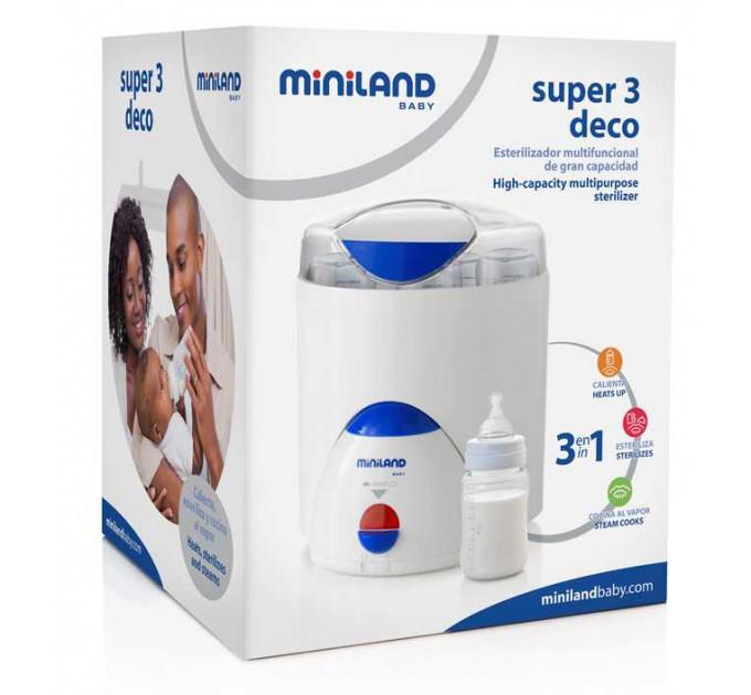 Miniland Super 3 Deco стерилизатор бутылочек