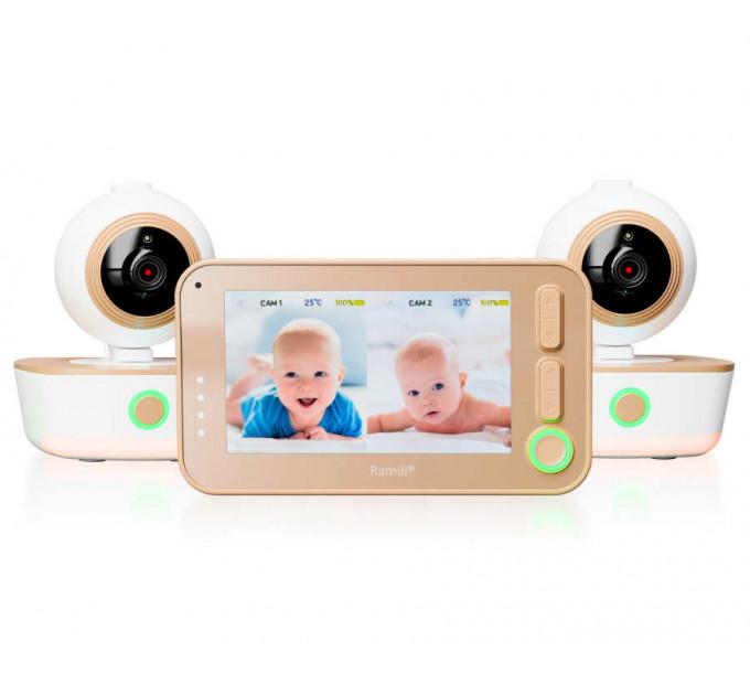 Видеоняня Ramili Baby RV1300X2 с двумя камерами