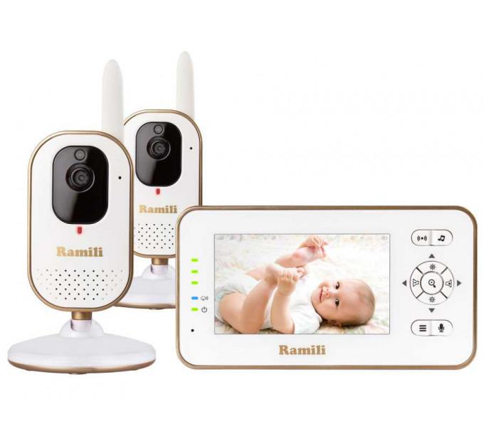 Видеоняня Ramili Baby RV350X2 с двумя камерами