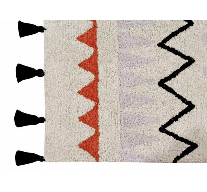 Ковер Lorena Canals Ацтекский Azteca Natura (терракотовый) 140 на 200 см