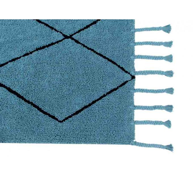 Ковер Lorena Canals Bereber Берберский бирюзовый 140 на 200 см