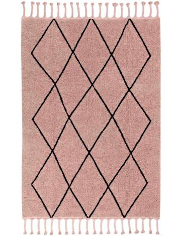 Ковер Lorena Canals Bereber Берберский винтажный розовый 140*200