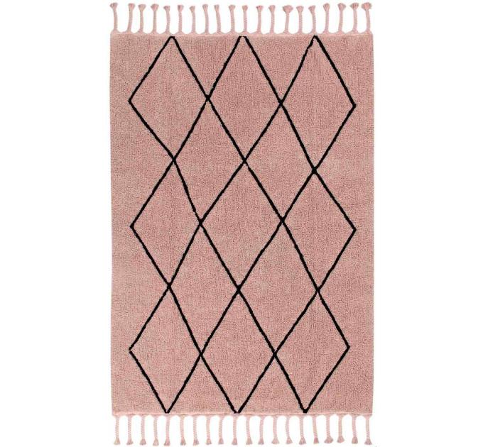 Ковер Lorena Canals Bereber Берберский винтажный розовый 140 на 200 см