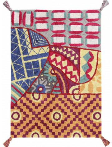 Ковер Lorena Canals Индийский Indian Bag цветной 120*160
