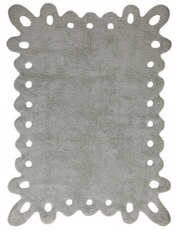 Ковер Lorena Canals Кружево Lace серый 120*160