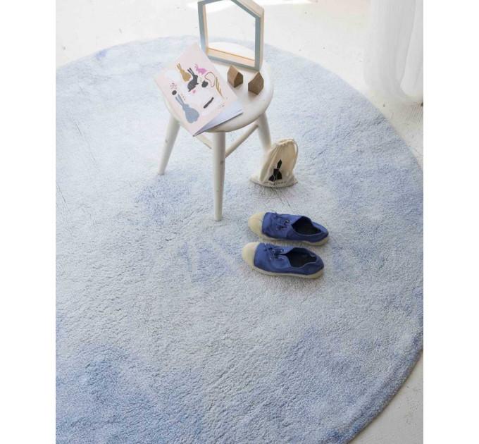 Ковер Lorena Canals Tie-Dye нежно-голубой 150 см