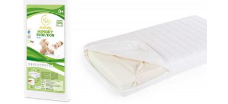 Виды матрасов для детской кровати для новорожденного