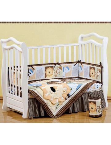 Giovanni Shapito Leo Jungle комплект белья в кроватку 60х120