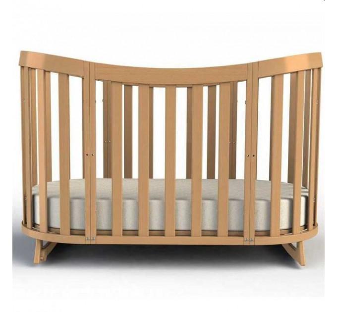 Овальная кроватка 2 в 1 Fiorellino Cloud