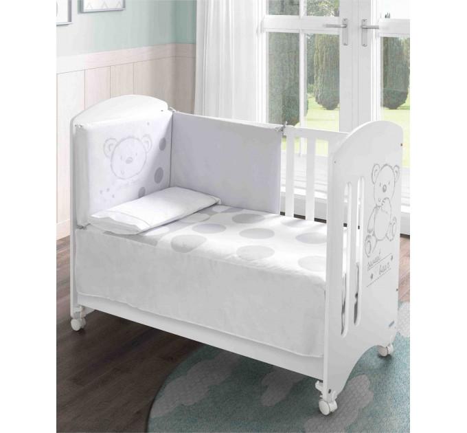 детская кроватка Micuna Sweet Bear Basic + Матрас