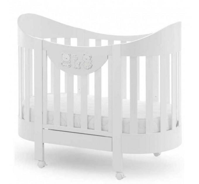 Детская овальная кровать Italbaby Happy Family Oval
