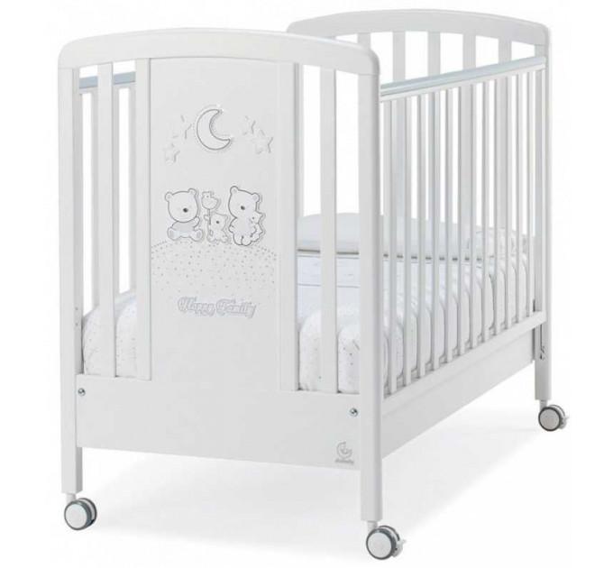 Детская кроватка Italbaby Happy Family Strass (белый)