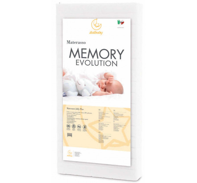 Матрас Italbaby Memory Evolution 125x63