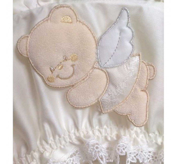 колыбель Italbaby Sweet Angels плетеная