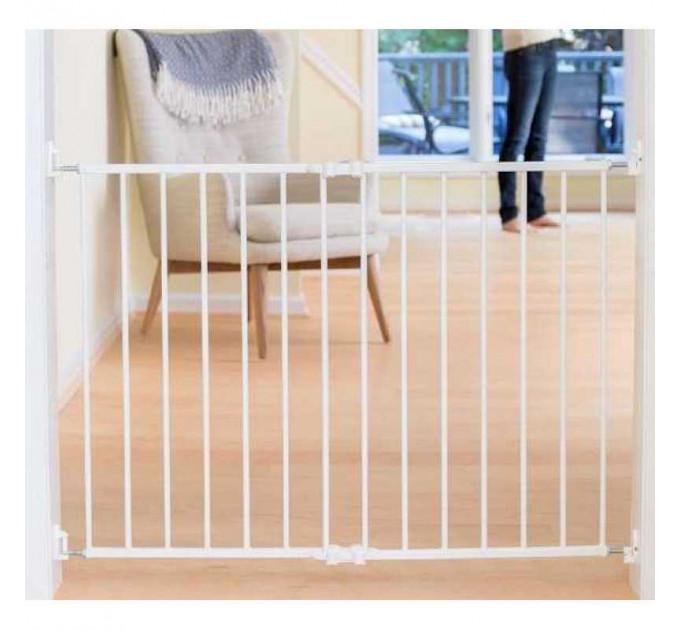 Ворота безопасности Safe and Care 110 Белый (со сверлением) от 64 до 99,5 см