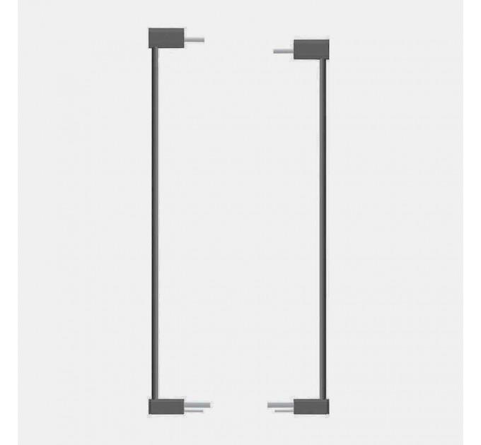 Два дополнительных элемента Safe and Care Clear View AutoLock по 7 см графит
