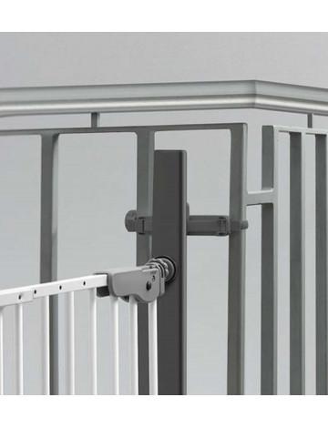 Крепление к балясинам Safe and Care для установки ворот (черный)