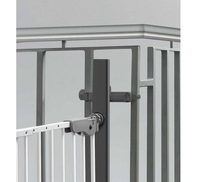 Крепление к балясинам Safe and Care для установки ворот безопасности (черный)