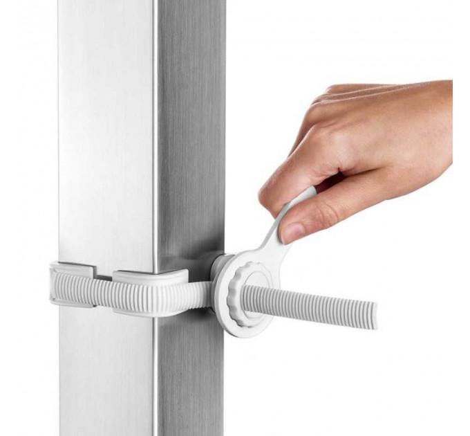Крепление к балясинам Safe and Care для установки ворот безопасности (белый)