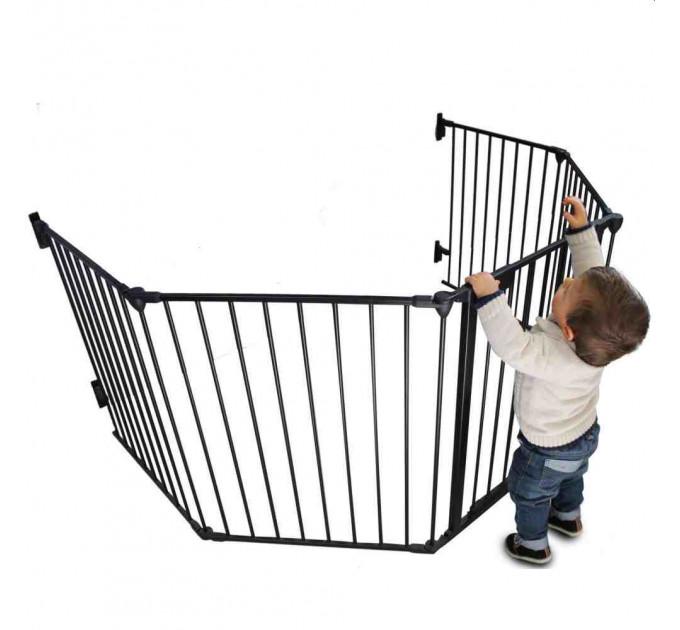 Ограждение для детей Safe and Care XXL (графит)  330 см