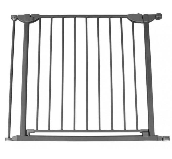 Калитка-секция для ограждения Safe and Care 80 см (графит)