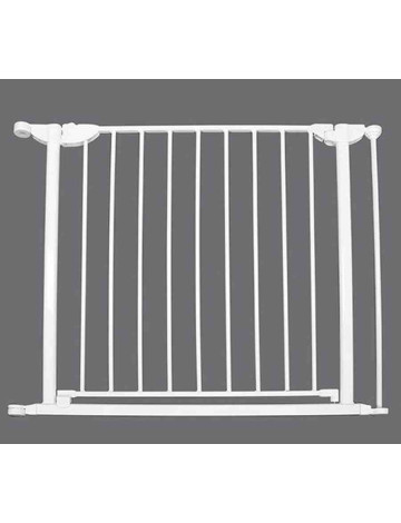 Калитка-секция для ограждения Safe and Care 80 см (белый)