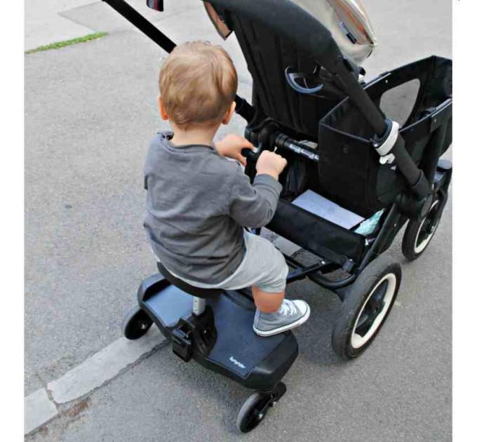 Bumprider Sit универсальная подножка с сиденьем для второго ребенка на коляску