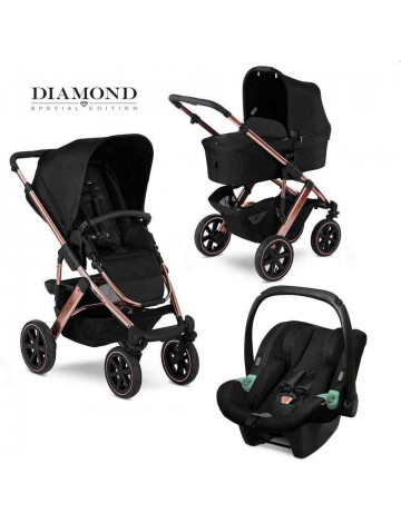 Коляска 3 в 1 FD-Design Salsa 4 AIR Diamond Rose Gold